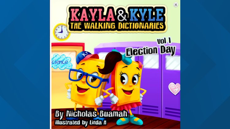 book cover of kayla and kyle walking dictionaries