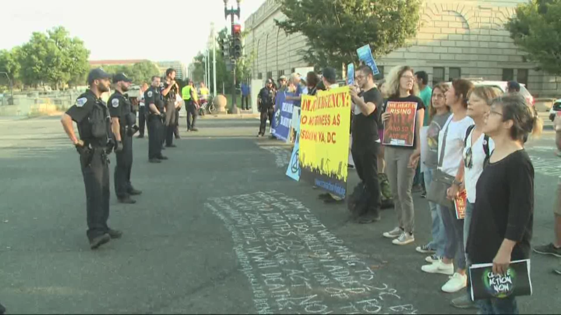 Shut Down Dc Climate Strike Planned For September 23 Wusa9 Com