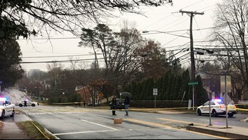 Police believe driver passing Montgomery County school bus strikes, critically injures 17-year-old in crosswalk