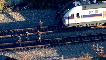 Teenager struck by MARC train in Laurel