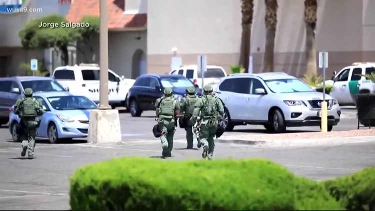 Several killed in Texas mall shooting