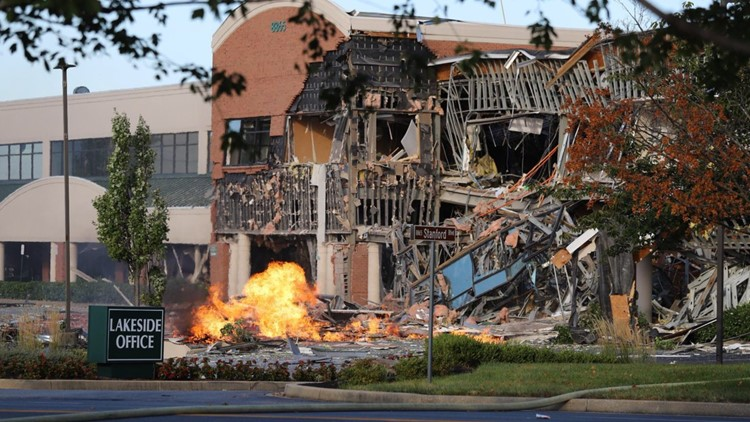 'Probably totaled'   Gas explosion in Columbia, Md, damages businesses, officials say