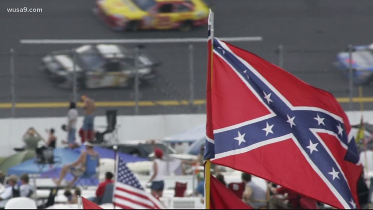 'It's about time': NASCAR prohibits displaying Confederate flag at racing events