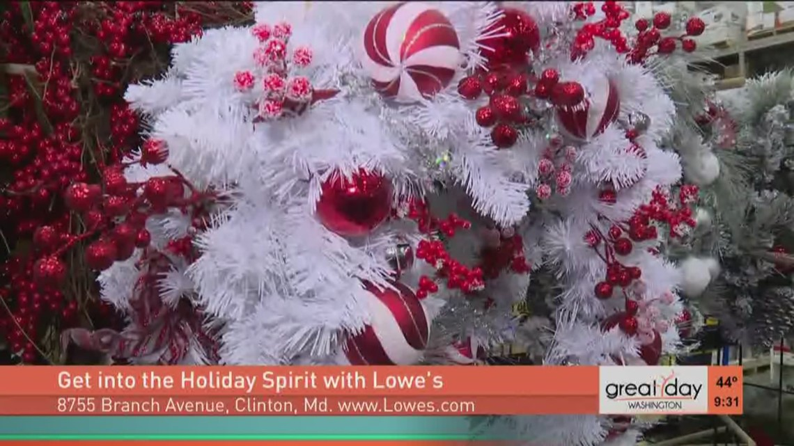 fancy holiday lights for your home wusa9com - What Time Does Lowes Close On Christmas Eve
