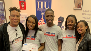 Get Up DC gives $1K to Howard students who sacrifice spring break and serve communities in need.