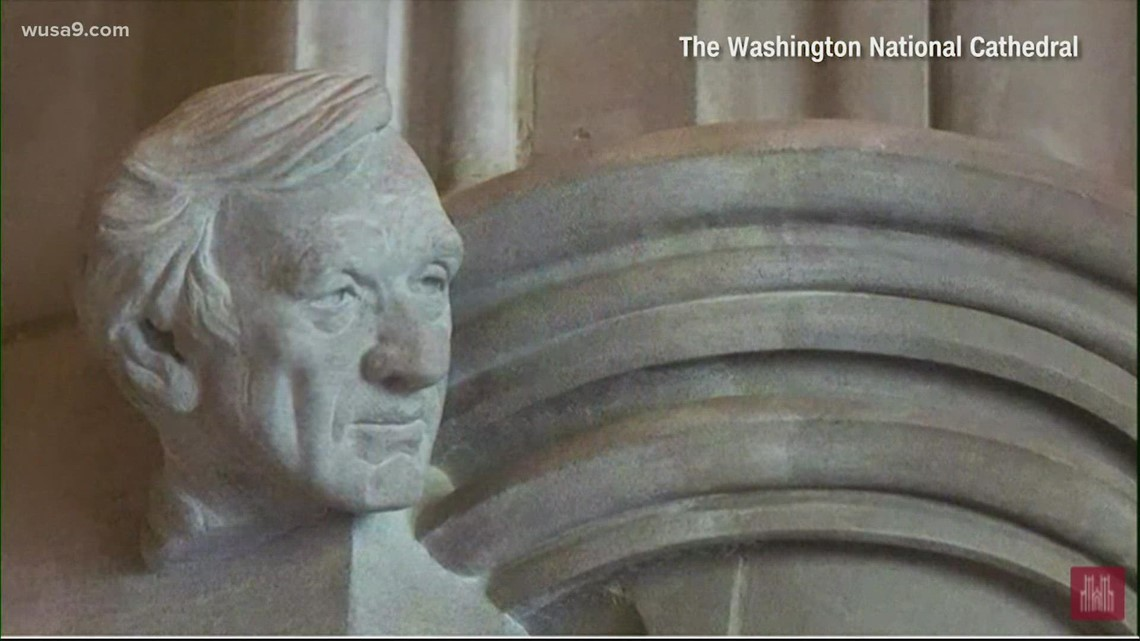 Washington National Cathedral gets new stone carving | It's A DC Thing