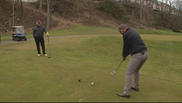 Avid Loudoun County golfer makes goal to play 365 rounds in 1 year