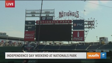 Colorful drinks and tasty treats are waiting for you at Nats Park this holiday weekend
