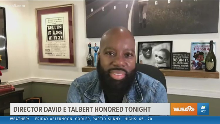 Morning chat with award-winning filmmaker & Prince George's County native, David E. Talbert