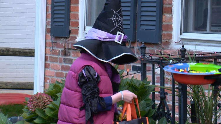 Community rallies to make Halloween possible for a young girl battling cancer