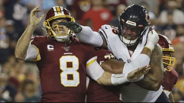 Trubisky, Bears get offense on track, beat Redskins 31-15