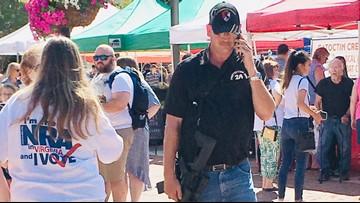 Vendors on edge after man walks through farmers market wielding assault weapon