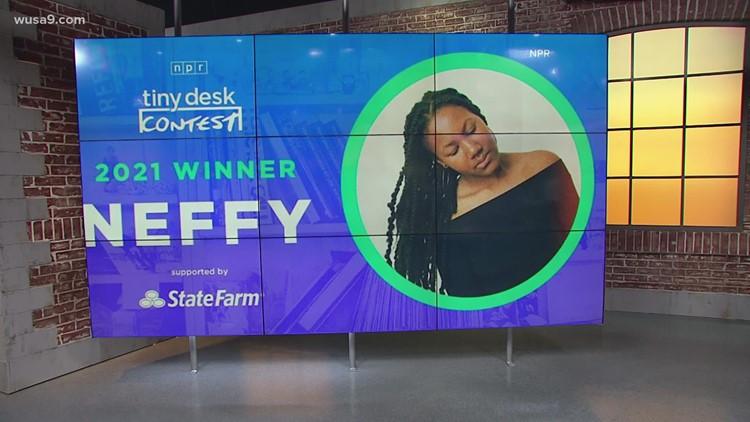 Arlington singer-songwriter wins big contest | Get Uplifted