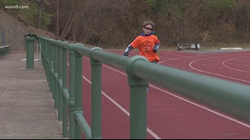 9-year-old runs 100 miles to raise money for kids with cancer