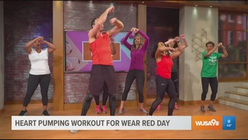 A heart pumping workout for American Heart Month