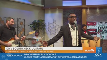 JusPaul adds flavor to Christmas classic for the DMV Soundcheck
