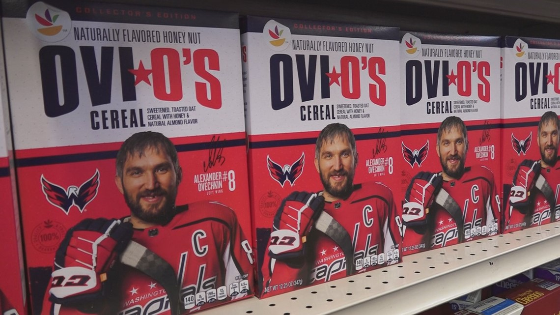 Alex Ovechkin helps launch Ovi O's