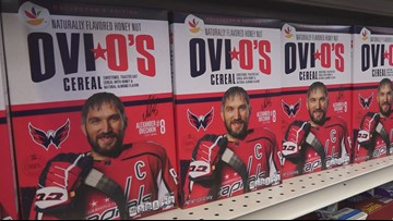 Alex Ovechkin helps launch Ovi O's