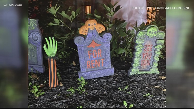 Halloween decoration has Twitter user contemplating rent prices   Greatest Hit