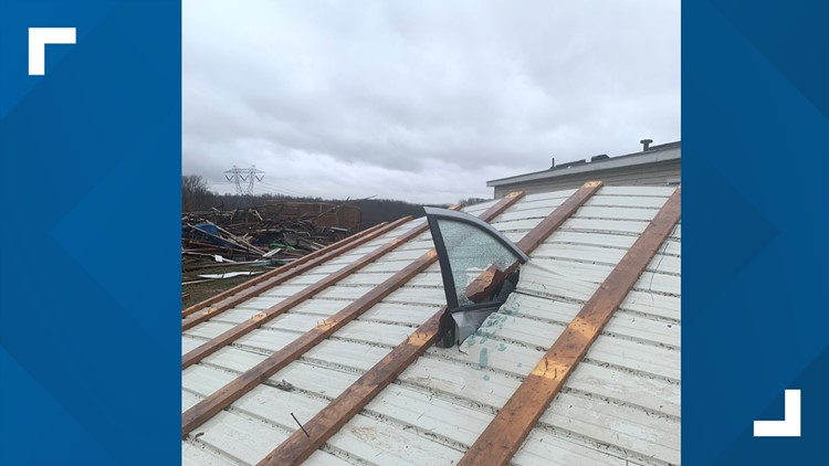Burall Farm structural damage