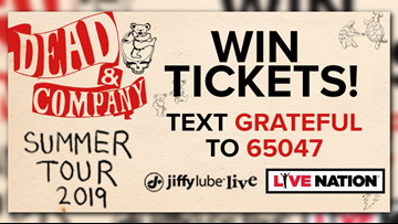 Win tickets to see Dead & Company at Jiffy Lube Live | wusa9 com
