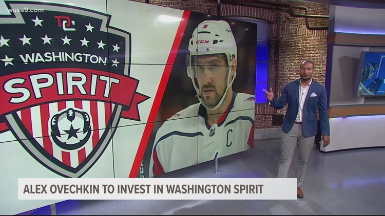 Capitals Alex Ovechkin to invest in NWSL's Washington Spirit