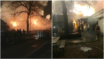 2-alarm fire damages swim club and daycare center in Rockville