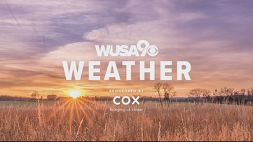 Winds will gust up to 30 mph Friday with more clouds