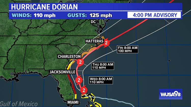 Dorian Track 4 pm