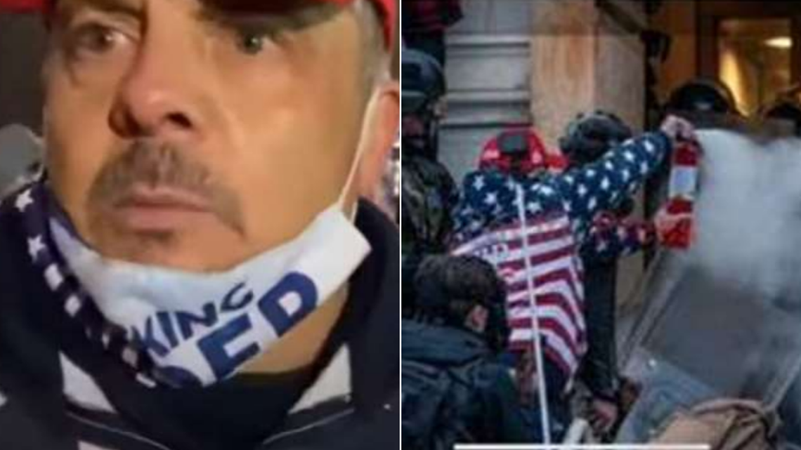Capitol Riot suspect in tears at sentencing. Attorney says he is remorseful for crime that is 'forever part of American history'