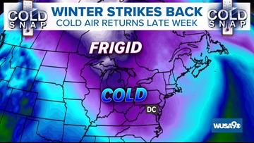 Arctic Air Returns