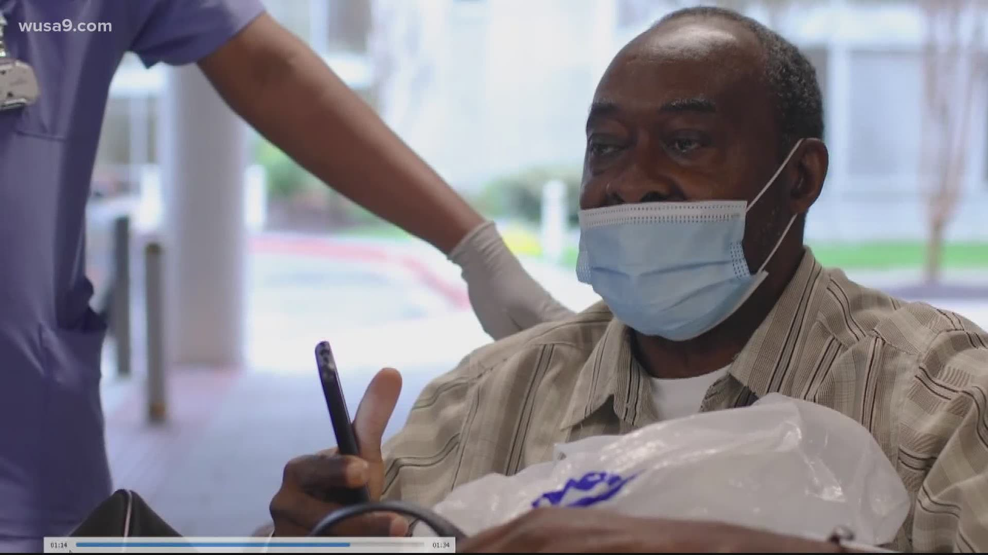 Medstar Health Discharges 1000th Recovered Covid 19 Patient Wusa9 Com