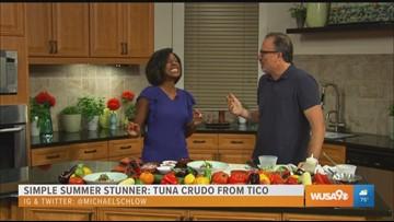 Simple Summer Stunner: Tuna Crudo by Chef Michael Schlow