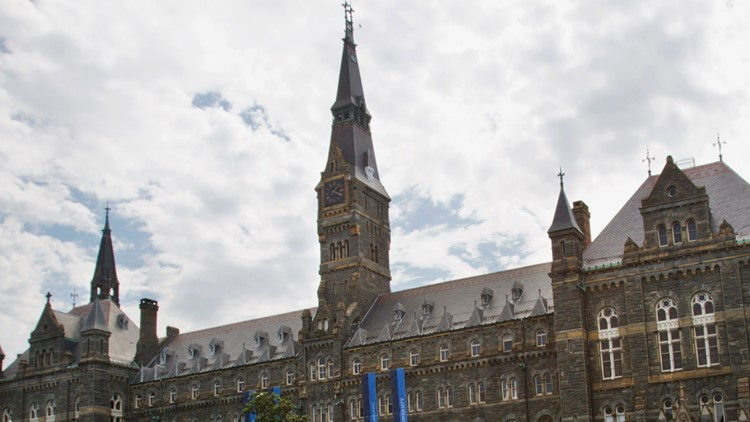 Unknown cause for a dozen sick students at Georgetown University