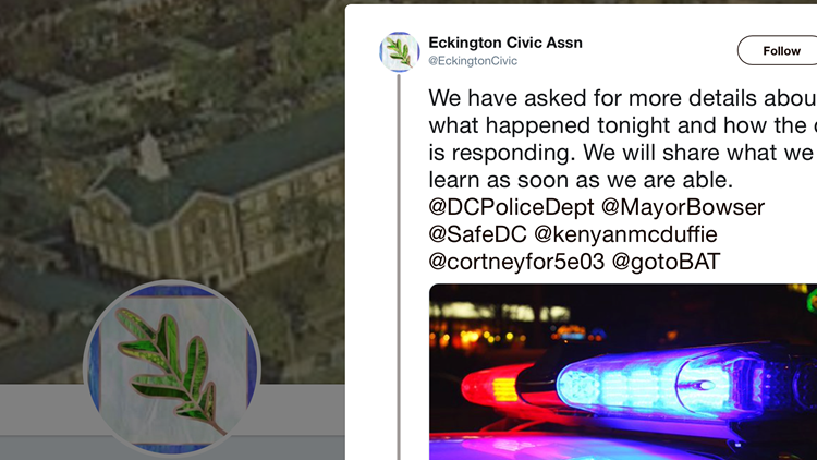 Eckington Civic Association Tweet