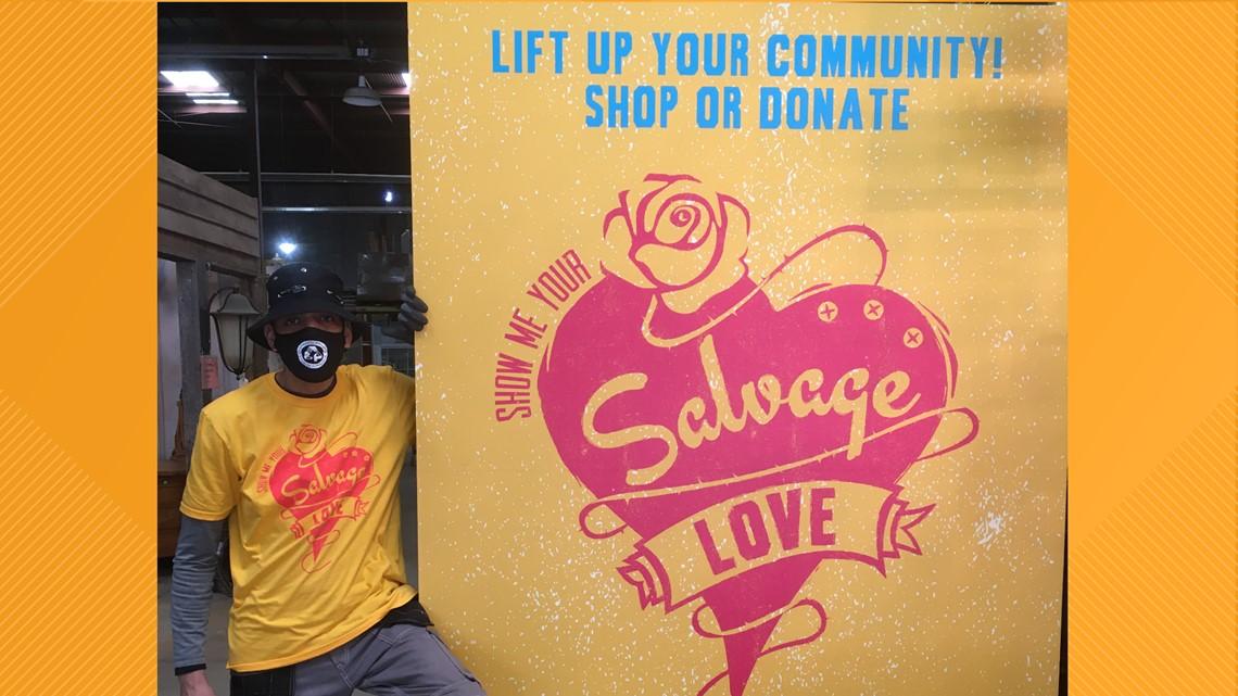 Get Up Give Back gives $1000 to Community Forklift