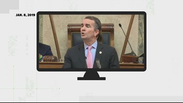 Gov. Ralph Northam denied that he wanted to send the National Guard to confiscate guns at State of the Commonwealth