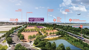 Virginia Tech moves Amazon-related Innovation Campus to 65-acre site at Potomac Yard