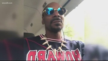 Snoop Dogg hits the streets of DC