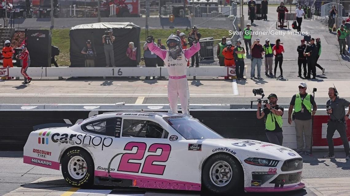NASCAR driver David Starr visits Children's National Hospital
