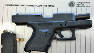 TSA officers at BWI Airport catch loaded gun in woman's carry-on bag