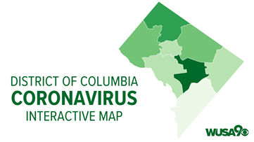 DC Coronavirus Tracker: See how many cases of COVID-19 have been reported in each ward