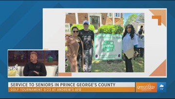 Service to seniors in Prince George's County with the 'Christmas in April' organization