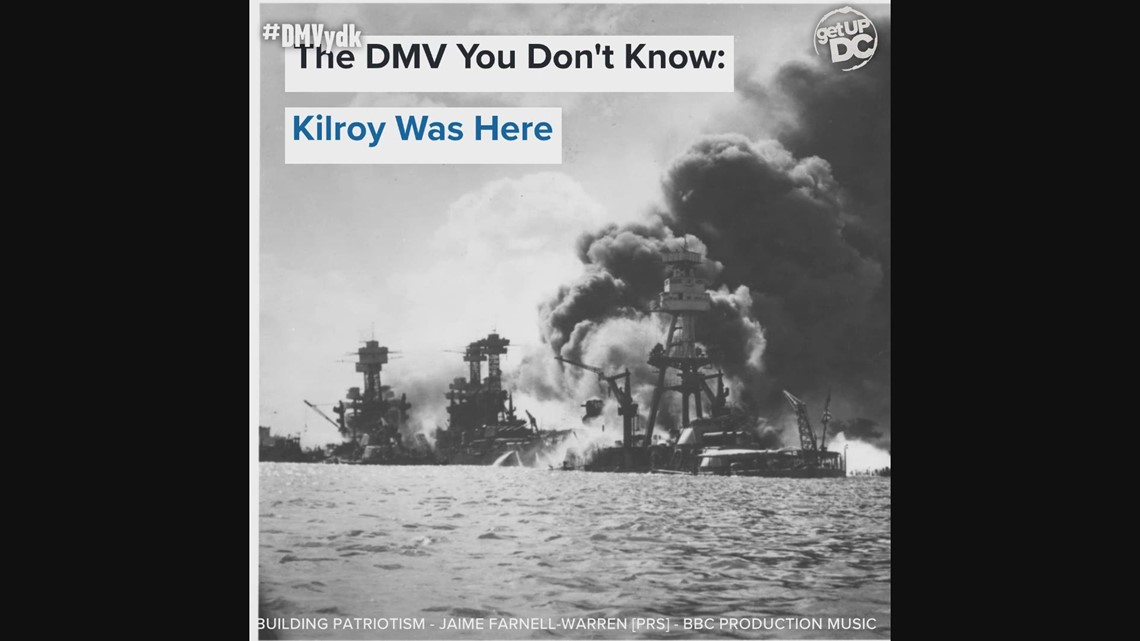The story behind the famous 'Kilroy was here' graffiti | DMV You Don't Know