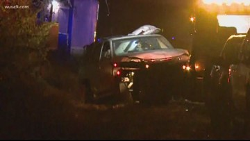 Man charged with DUI after SUV hits, injures road workers on I-66, police say