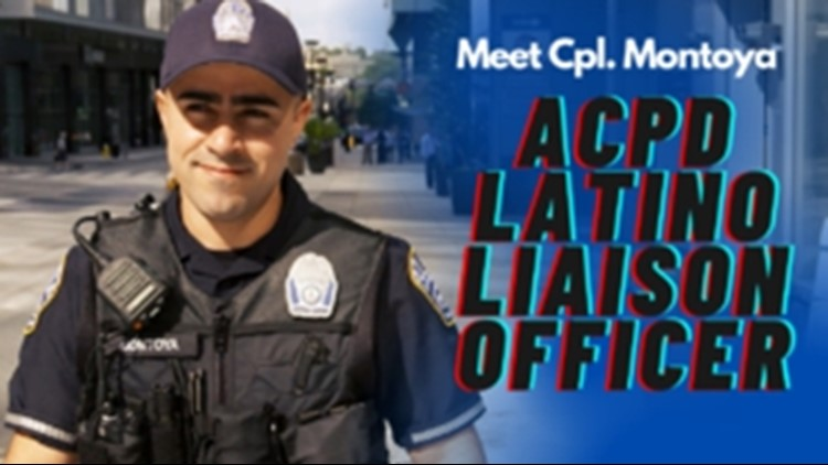 Arlington County Police Dept. names first Latino Liaison officer