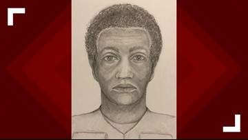 Police release sketch of man who killed woman in Greenbelt parking lot