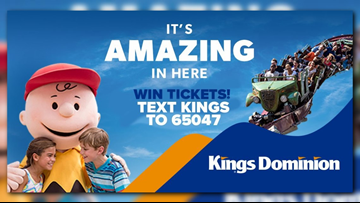 Win tickets to Kings Dominion