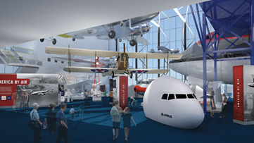 Here's what you can't see during the National Air & Space Museum's massive reconstruction