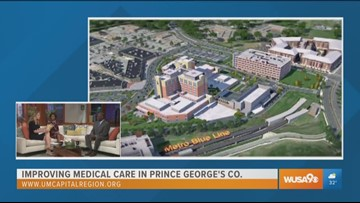 University of Maryland Capital Health Region is building a brand new facility in Prince George's County